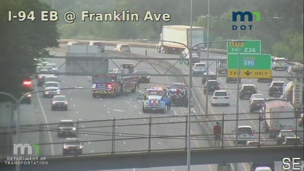 Officials investigate fatal crash on I-94 in Minneapolis