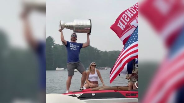 St. Paul native Ryan McDonagh celebrates with Stanley Cup
