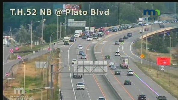 Motorcyclist dies in crash on Highway 52 in St. Paul