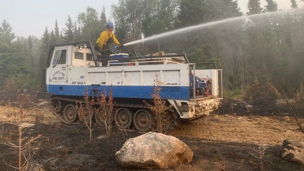 BWCA fires: Officials say rain helped slow growth, but area still dry