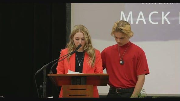 Celebration of life held for Mack Motzko in St. Cloud