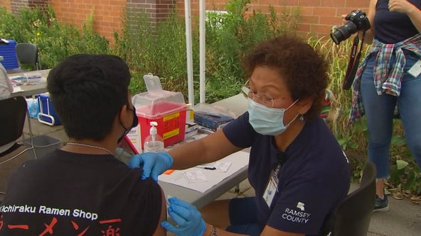 Twin Cities students get COVID-19 vaccinations as they prepare for return to classes