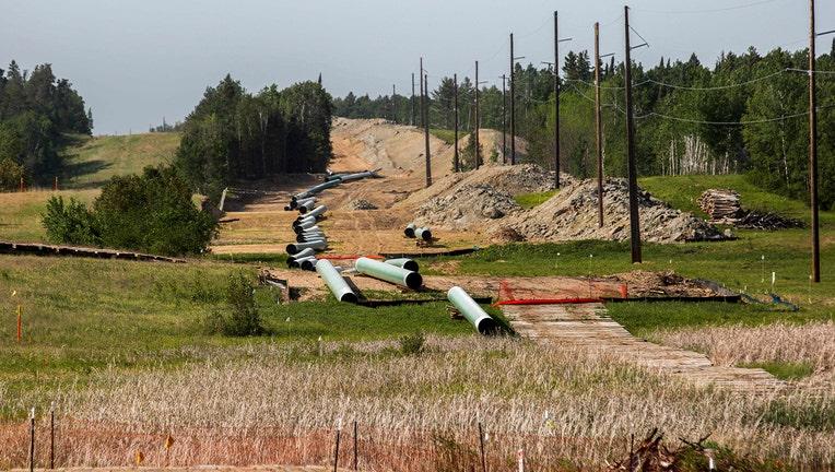 Enbridge Line 3 pipeline GETTY