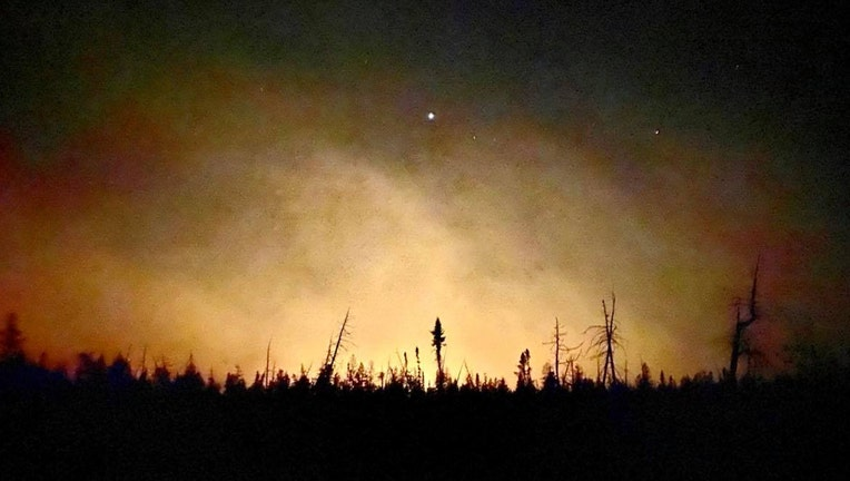 US Forest Service Greenwood Fire