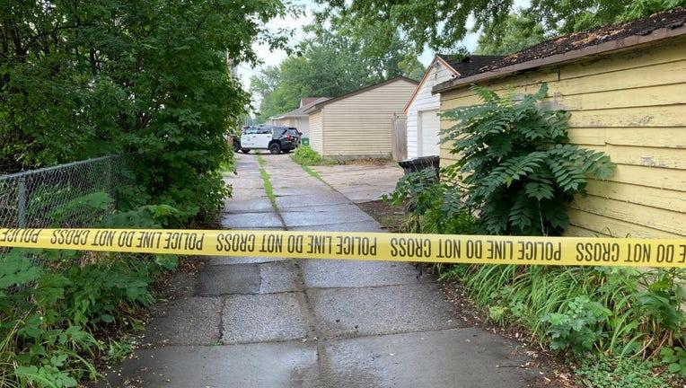 Knox Avenue N alley homicide