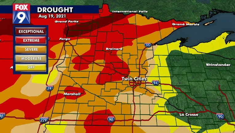 drought monitor 8-19-21