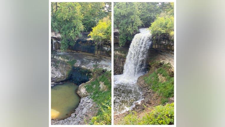 Minnehaha Falls Monday Tuesday