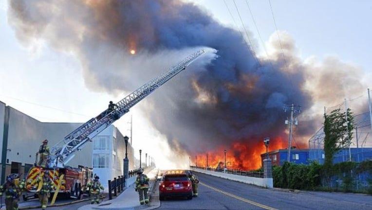 st. paul commercial building fire