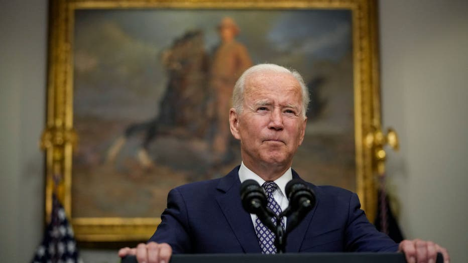 President Biden Delivers Remarks On Ongoing Afghanistan Withdrawal And Evacuations
