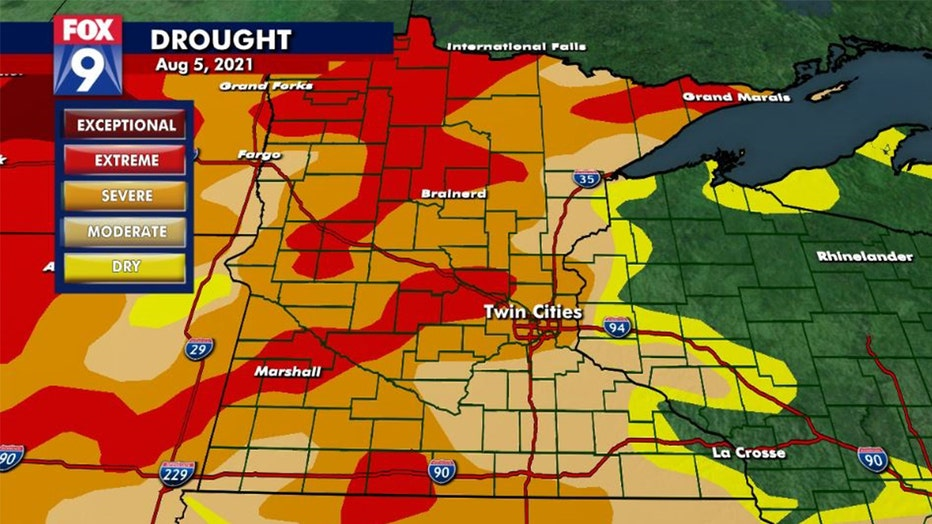 drought monitor 8-5