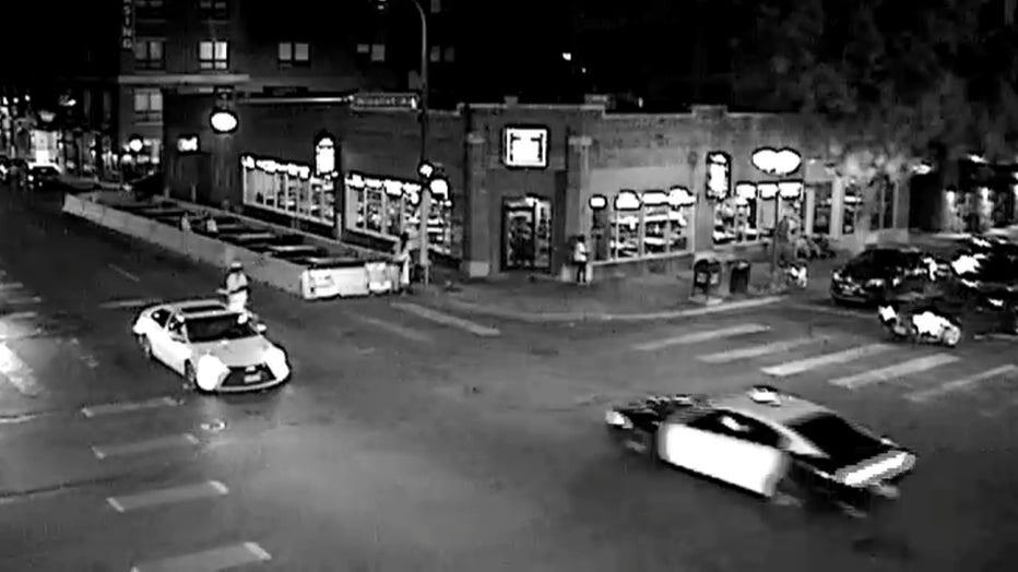 suspect vehicle Minneapolis hit and run