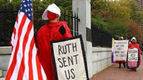 On year's anniversary of Ruth Bader Ginsburg's death, abortion rights in limbo