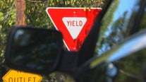 Crystal replaces some stop signs with yield signs to improve traffic flow