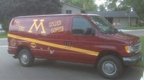 Owner searching for well-known Gophers fan van that was stolen from Dinkytown