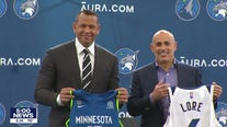 Timberwolves introduce Alex Rodriguez, Marc Lore at media day