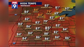 Summer-style humidity returns just in time to start October