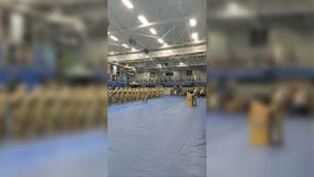 'They're home now': Soldiers welcomed back to US from Afghanistan with cheers, applause