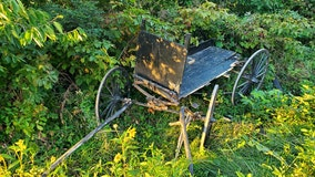 Buggy rear-ended by pickup truck in western Wisconsin, 1 injured