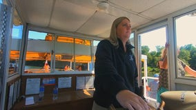 Taylors Falls Scenic Boat Tour celebrates first female captain in 44 years