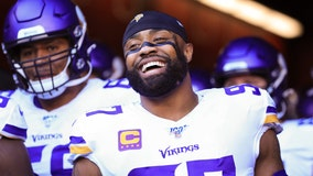 Vikings DE Everson Griffen out for Sunday's game after car crash