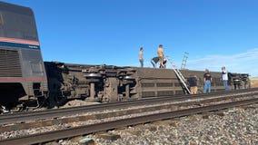 Federal investigation arrive in Montana after Empire Builder train derailment