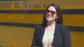 St. Francis schools superintendent gets bus driver's license amid shortage