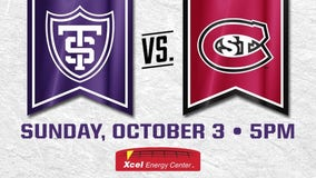 St. Thomas men's hockey team to host St. Cloud State Oct. 3 at Xcel Energy Center