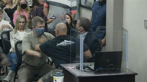 Fight breaks out at Eastern Carver County school board meeting on mask requirements