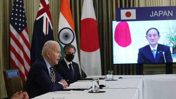 Biden to talk COVID-19, climate change in first Quad Leaders Summit Sept. 24