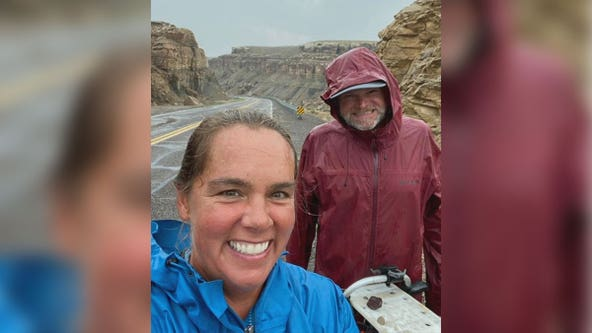 Twin Cities couple crossing continental United States on foot