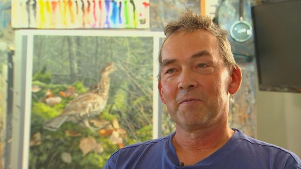 Minnesota man wins Federal Duck Stamp Art Contest for the 6th time
