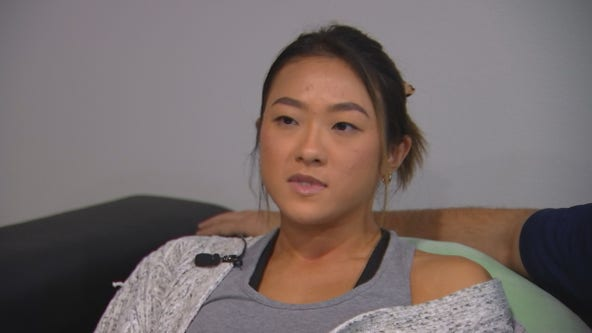 Innocent bystander hit by gunfire in uptown recounts terrifyingly close call