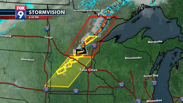 Storms moving east could bring strong to severe weather into Twin Cities Thursday night
