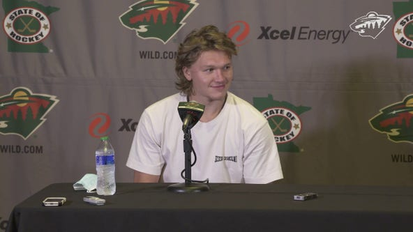 'I'm happy to get this done': Kirill Kaprizov inks 5-year deal with Minnesota Wild