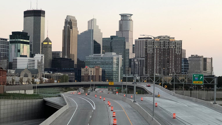 I-35W reopens