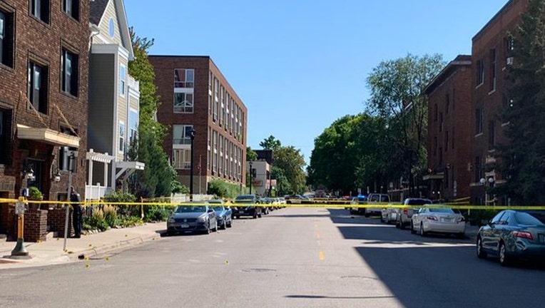 Stevens Square homicide