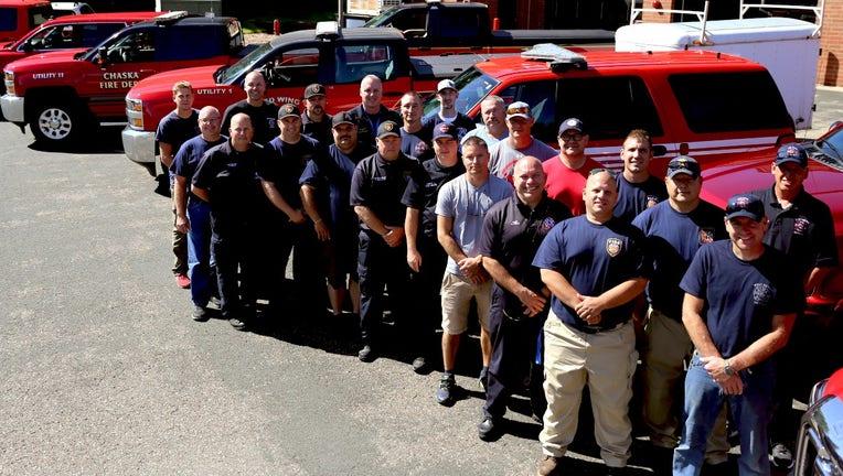 firefighters to Louisiana