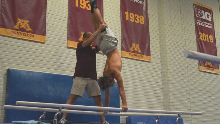 gymnastics u of m