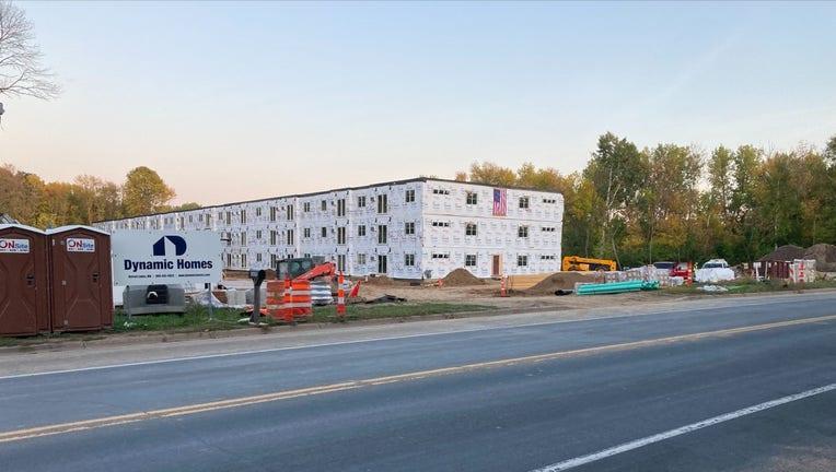 lindstrom construction site