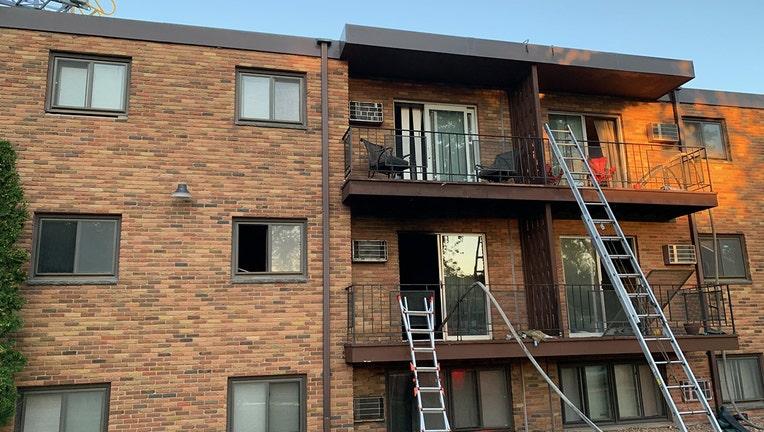 st. paul apartment fire marion street 1