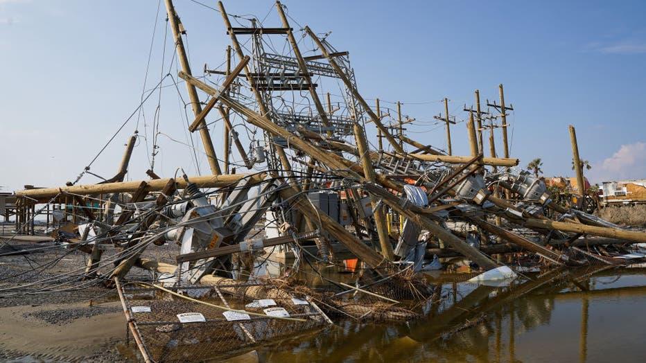 68148e7e-Hurricane Ida Makes Landfall In Louisiana Leaving Devastation In Its Wake
