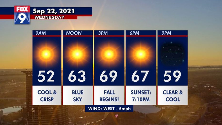First day of fall dayplanner