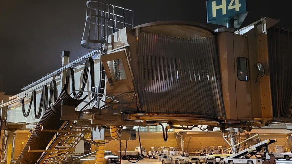 jetway damage MSP Airport Jacob Keil