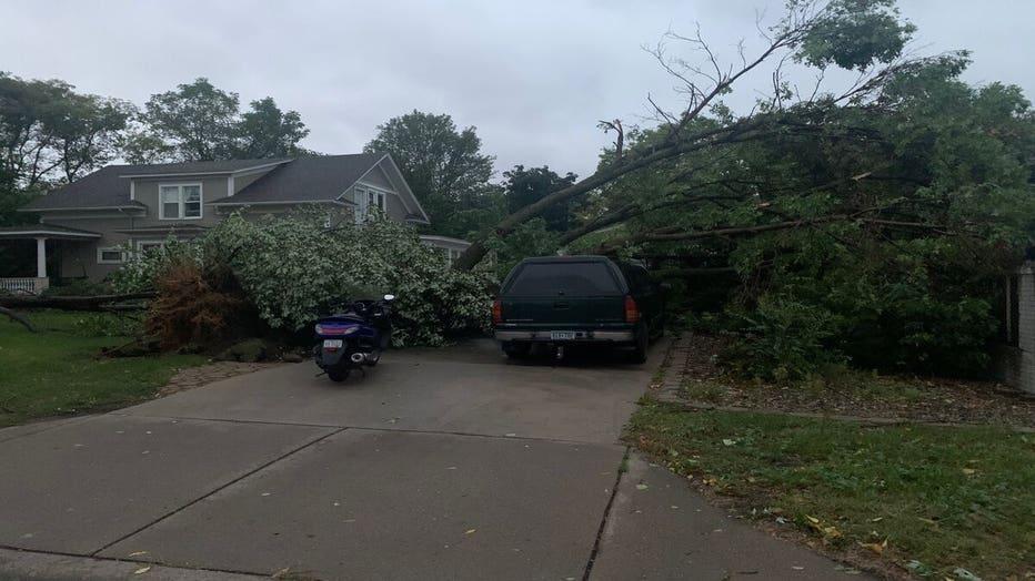 St. Paul Park storm damage