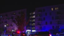 Police investigating homicide at Hopkins apartment building