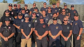 Minnesota firefighters return home after helping parts of Louisiana devastated by hurricane