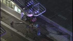 2 killed in crash at new freeway bus station on I-35W and Lake Street