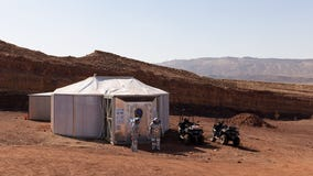 Life on Mars: Astronauts simulate conditions of red planet in desert