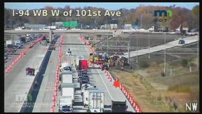 1 seriously injured at construction site on I-94 near Dayton
