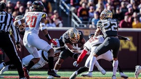 Gophers run for 326 yards, 4 TDs in 34-16 win over Maryland